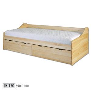 Łóżko dziecięce drewniane – LK130
