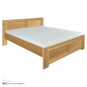 Łóżko dębowe LK261-LK212