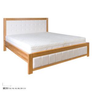 Łóżko dębowe – LK214