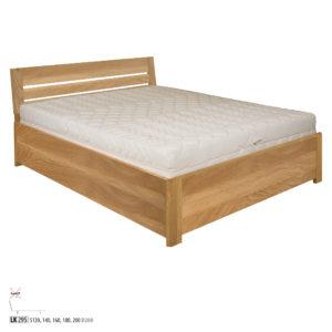 Łóżko dębowe – LK295
