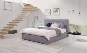 Łóżko tapicerowane ALAN