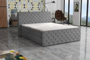 Łóżko tapicerowane GREY