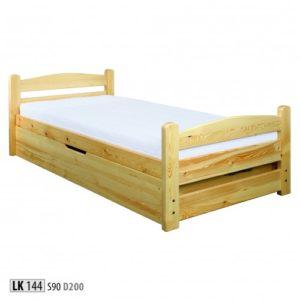 Łóżko drewniane sosnowe LK 144