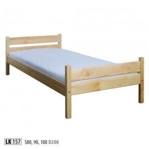 Łóżko drewniane sosnowe LK 157