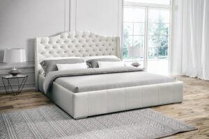 Łóżko tapicerowane BELLA