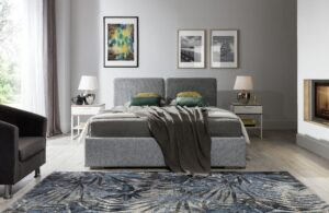 Łóżko tapicerowane BEN