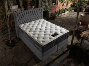 Łóżko tapicerowane kontynentalne WENECJA