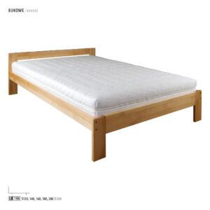 Łóżko bukowe LK 184-194
