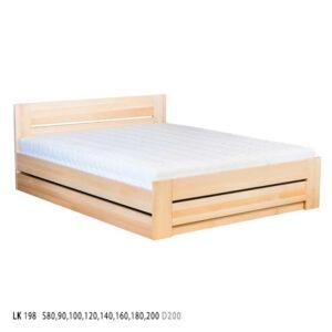 Łóżko bukowe LK198