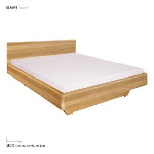 Łóżko dębowe LK210