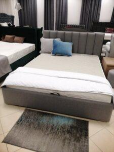 Łóżko tapicerowane Neapol