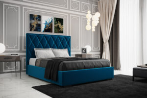 Łóżko tapicerowane KARO