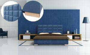 Łóżko tapicerowane BJORG