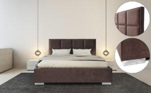 Łóżko tapicerowane SEVILLA