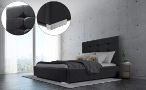 Łóżko tapicerowane SICILIA