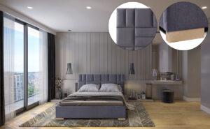 Łóżko tapicerowane TIVOLLI